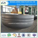 楕円形のヘッド炭素鋼皿に盛られた楕円ヘッド
