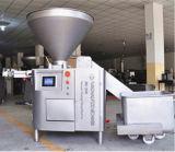 Salsicha da fonte da fábrica que faz a máquina