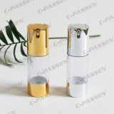 30g como o frasco cosmético mal ventilado transparente plástico com bomba da loção (PPC-NEW-023)