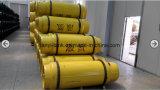 cylindre de gaz soudé d'acier du carbone 400L pour le chlore liquide, SO2