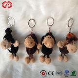 신형 신사 견면 벨벳에 의하여 채워지는 양 연약한 Keychain 장난감