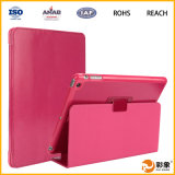 iPad 6을%s 높은 Quality Tan Flip Leather Tablet Case