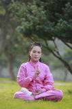 Vêtement en bambou Long-Sleeved à haute teneur de pratique en matière de prêtres du chanvre des hommes de Chi de Wudang Tai