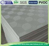 Telha do teto da gipsita com PVC e alumínio