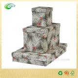 Décorer les boîtes-cadeau polychromes de papier de carton de Noël avec les couvercles (CKT-PB-014)