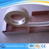 Esquina de metal de la pared seca de cinta de papel, cinta común de papel, cinta adhesiva de la fibra de vidrio