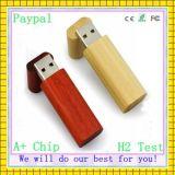 전용량 고품질 대나무 USB 드라이브