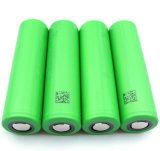 A bateria elevada a mais nova da bateria 18650 2500mAh LG 35A de Sony Vtc5 30A 2600mAh do dreno