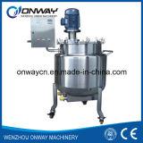 Agitador líquido de mistura do misturador da máquina de mistura do petróleo do tanque da emulsificação da camisa de aço inoxidável do Pl