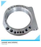 Grande CNC feito sob encomenda da fundição de aço que faz à máquina para o anel