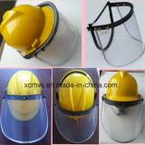 Защитный лицевой щиток гермошлема, забрало Faceshield PC/PVC, забрало для шлема безопасности, забрало защитной маски PC защитной маски PVC, прозрачное забрало защитной маски, зеленое забрало защитной маски