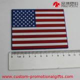 Práctico de costa redondo del patrón del rectángulo del corazón del patrón de encargo de la bandera nacional