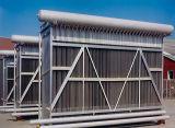 """넓은 채널 """"를 냉각하는 304 스테인리스 격판덮개 열교환기 """"용접된 격판덮개 콘덴서"""