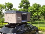 Barraca ao ar livre girada manualmente da parte superior do telhado do carro do escudo duro para acampar