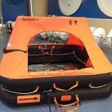 gonflables 6-35persons rigides Jettent-Par dessus bord le radeau de sauvetage/flottement de la vie