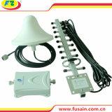 Neuer 55dB mobiler Signal-Verstärker des Gewinn-1700MHz Aws 3G 4G mit im Freienyagi-Antenne und Innenallrichtungsdecken-Abdeckung-Antenne