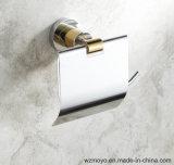 Suporte de bronze do papel higiénico para o banheiro