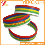 Kundenspezifischer bunter SilikonWristband in China (YB-LY-WR-15)