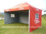 Publicité Oxford Cloth Folding 3 * 4 Canopy Tent / Sun Shade Tent with Sidewall