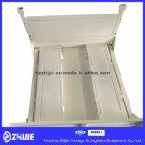 Dobradura resistente do fabricante e recipiente de aço Stackable