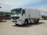 Carro profesional del compresor de la basura del compresor del saneamiento de la fuente de la talla del tanque 15m3
