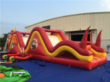 2016 nuovo Arrival Inflatable Dragon Theme Obstacle Course da vendere