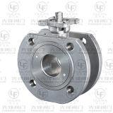 Tipo válvula de esfera CF8/CF8m/CF3m da bolacha (DN15-DN150)