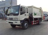 Caminhão profissional do compressor do lixo do compressor do saneamento da fonte do tamanho do tanque 15m3
