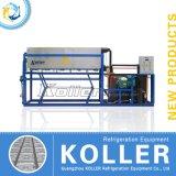 3 أطنان قدرة مباشرة صالح للأكل تجاريّة جليد قالب آلة