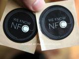 Surtidor elegante de la tarjeta de la identificación de la frecuencia ultraelevada RFID/NFC de las etiquetas pasivas de las etiquetas engomadas de la calidad