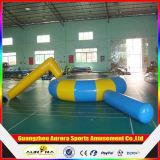 0.9mm PVC Tarpaulin Inflatable Water Trampoline Combo für Water Sports