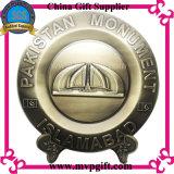 Edelstahl-Medaille mit Drucken-Firmenzeichen