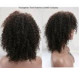 Perruque crépue indienne neuve d'enroulement de cheveux humains de l'arrivée 7A