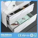 Mobilia della stanza da bagno di stile di nuovo alto dell'interruttore di tocco del LED nuova della vernice brillante del bagno del Governo disegno moderno dell'unità (BF128M)