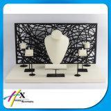 La fábrica de Guangzhou tiene la costumbre de cuero joyas cajas display de apoyo
