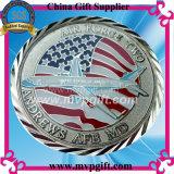 2017 moneta militare del metallo 3D per il regalo della moneta dell'esercito