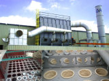 L'altoforno dell'officina siderurgica filtra i sacchetti filtro a temperatura elevata di Nomex