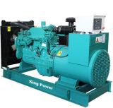 Motor de Doosan do tipo silencioso Genset Diesel 200kw/250kVA para explorações agrícolas