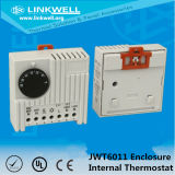 Pequeño Tamaño bimetálico Normalmente Abierto Controlador de temperatura del termostato con el certificado CE para eléctrico Gabinete de control (KTS 011)