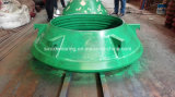Sbm Shanbao das Zenit, das Kegel-Zerkleinerungsmaschine kalken, zerteilt Umhang und konkaves