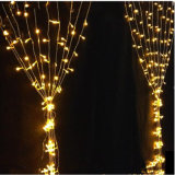 Lumière décorative bon marché de rideau en pluie de la lumière DEL de rideau en lumière DEL de rideau en DEL