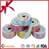 Brillante envoltura de regalo laminación poli curling cinta
