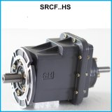 Füßiger Motor Zwei-Positionierter Drehzahl-Verkleinerungs-schraubenartiger Getriebe-Reduzierer