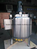 Edelstahl Electric Heating Mixing Tank mit Top Entry Mixer