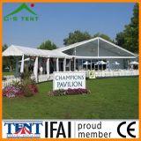 Tenda libera di lusso della tenda foranea di mostra di Tente Transparente