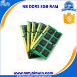 Работа с компьтер-книжкой 8GB материнских плат 1600MHz PC3-12800 DDR3 RAM All