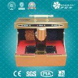 Münzenschuh-Poliermaschine