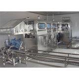 Automatisation machine recouvrante remplissante de lavage de l'eau de bouteille de 5 gallons