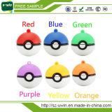 Pokemon gehen USB-Blitz-Laufwerk-kundenspezifischer Feder-Laufwerk USB-Stock Plastik-