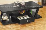 Деревянный журнальный стол с одной мебелью ящика домашней (DMEA024)
